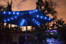 Lighted Patio Umbrella Solar Powered Lighted Patio Umbrellas Homprotek Comquality Patio