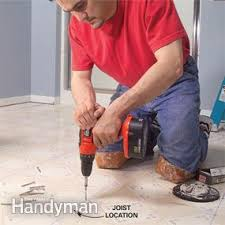 How To Lay Tile In A Bathroom Floor How To Lay Tile Install A Ceramic Tile Floor In The Bathroom