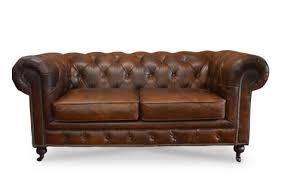 Oxford Leather Sofa The Oxford Traditional Leather Sofa Chesterfields Direct