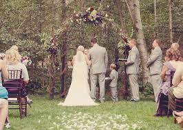 Wedding Arches Made Twigs Rustic Wedding Arbor Decorated With Grapevine Garland U0026 Fresh