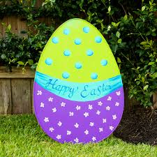 Easter Decorations Large by Easter Egg Yard Decoration