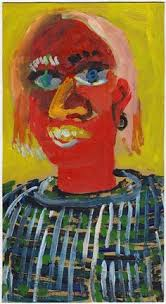 a divided man original painting by peter mack art