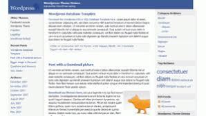4 facebook style free wordpress theme