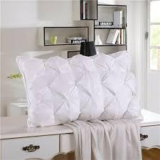 home design down pillow home textile sleeping pillow 100 goose down light white pillow zero