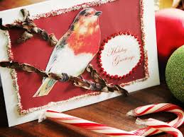 how to make a bird and branch card hgtv