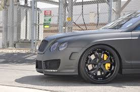 bentley wrapped european vision autoworks murdered out bentley flying spur w