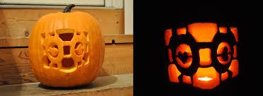 portal companion cube pumpkin carving by ladybug95 on deviantart