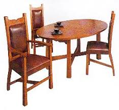 Arts And Crafts Dining Room Furniture New Arts Crafts Movement Hollyoak Range Oak Dining Chairs