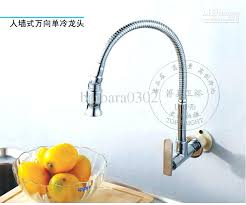 single handle wall mount kitchen faucet fascinating delta wall mount kitchen faucet image for wall