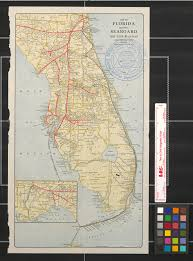 Map Of Flirida Map Of Florida Showing Seaboard Air Line Railway And Connections