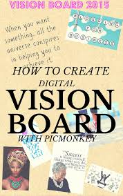 how to create a digital vision board with picmonkey thriftanista