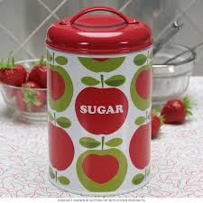 vintage metal kitchen canisters sugar apples steel kitchen canister vintage style kitchen jars