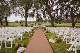 wedding venues in ocala fl outdoor country wedding outdoor open air wedding ceremony
