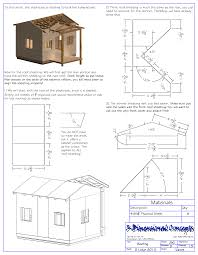 Playhouse Plans Childs Outdoor Wood Building House Plan Wooden