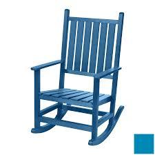 Teal Rocking Chair Shop Beachfront Furniture High Tide Bahama Blue Plastic Outdoor