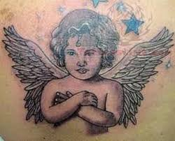 baby angel cupid tattoo tattoos book
