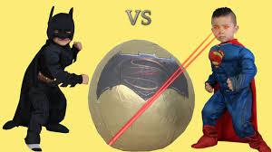 batman vs superman dawn of justice toys super giant surprise egg
