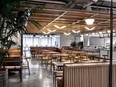 Avroko Interior Design Avroko Designs A Workplace Cafeteria For Dropbox Workplace