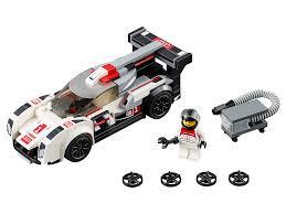 lego speed champions 75872 audi r18 e tron quattro mattonito