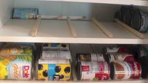 build your own kitchen pantry storage cabinet food storage can rotation solution home made pinterest