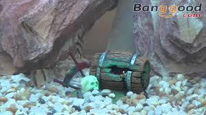 0 81 barrel of jewels air aquarium ornament
