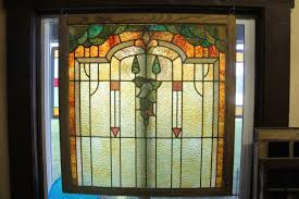 stained glass door windows olde world door and sunshine glass antique leaded stained glass