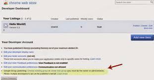 chrome google webstore chromium blog group based publishing in the chrome web store