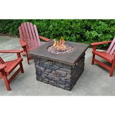 Propane Firepit Tortuga Outdoor Yosemite Propane Pit Rocking Furniture