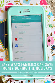 easy ways for families to save money during the holidays