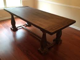 17th C Monastery Round Dining Table Dining Room Stunning Restoration Hardware Dining Table With