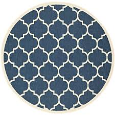 Navy And Beige Area Rugs Amazon Com Safavieh Courtyard Collection Cy6914 268 Navy And
