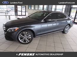 2015 used mercedes benz c class 4dr sedan c 300 4matic at landers