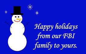 fbi on happy holidays from the fbi
