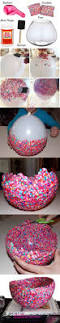 bol de confeti confetti bowls and craft