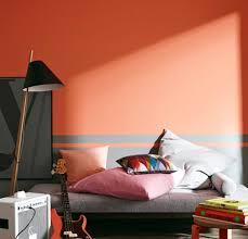 wandgestaltung rot einrichten farbduo an der wand rot und grau bild 8 schöner