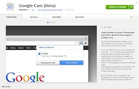 cast extension android releases a beta version of the cast chrome