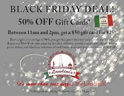 black friday christmas card deals black friday deal san diego pizza landini u0027s pizzeria