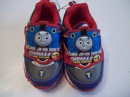 thomas the train light up shoes thomas the tank engine infant boys girls light up sneakers