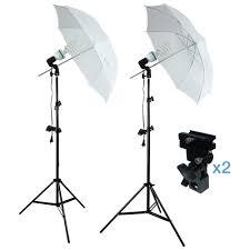 cheap umbrella lighting kit 400 watts photo portrait studio continuous umbrella lighting light