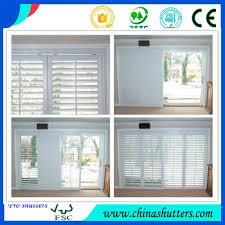 2016 modern home decor pvc plantation shutters from china shutters