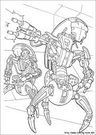 wars coloring picture