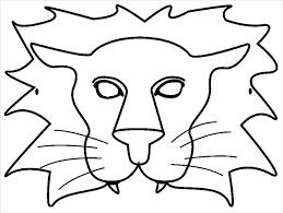 lion mask image result for lion mask templates the lion king jr