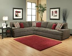Grey Velvet Sectional Sofa by Furniture Grey Velvet Sectional Sofa With Back Rest And Red