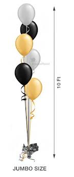 large balloons balloon tree cascading 6 6 large balloons balloon delivery by
