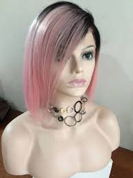 how to style brazilian hair full lace wig pink color wigs bob style brazilian hair 12inch