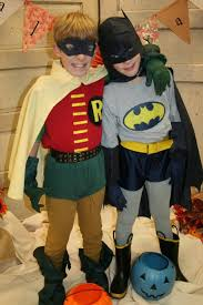 Halloween Batman Costumes Cute Buddy Costume Batman U0026 Robin Halloween Costumes