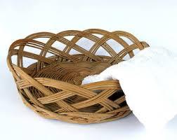 Bathroom Basket Storage by Towel Basket Etsy