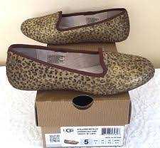 ugg womens alloway shoes zebra ugg australia s print flats and oxfords ebay