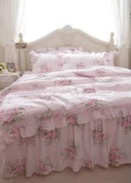 Roses Duvet Cover Shabby And Elegant Pink Roses Duvet Cover Bedding Set Rose