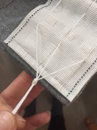 Pencil Pleat Curtain Tape Tutorial Tab Top To Pencil Pleat Curtains Makeover Dekko Bird